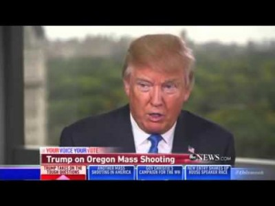 Trump Calls Obama 'A Great Divider' For Daring To Speak Out Against Guns In Wake Of UCC Massacre