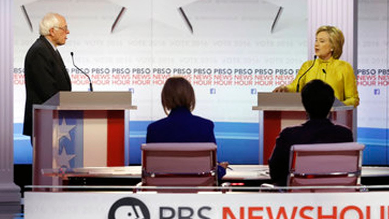 Who Won The PBS NewsHour Democratic Debate?